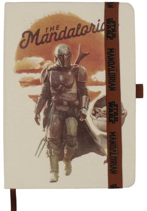 Zápisník Star Wars - The Mandalorian (A5)
