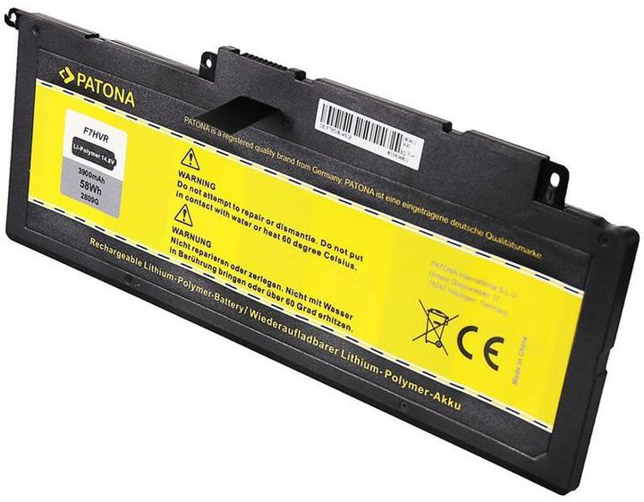 Patona baterie pro ntb DELL INSPIRON 17 7737 3900mAh Li-pol 14,8V F7VHR