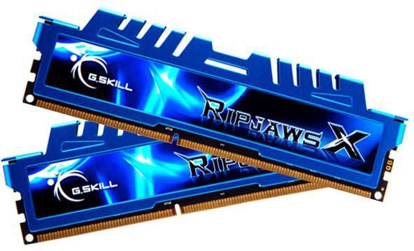 G.SKill RipjawsX 16GB (2x8GB) DDR3 2400 CL11
