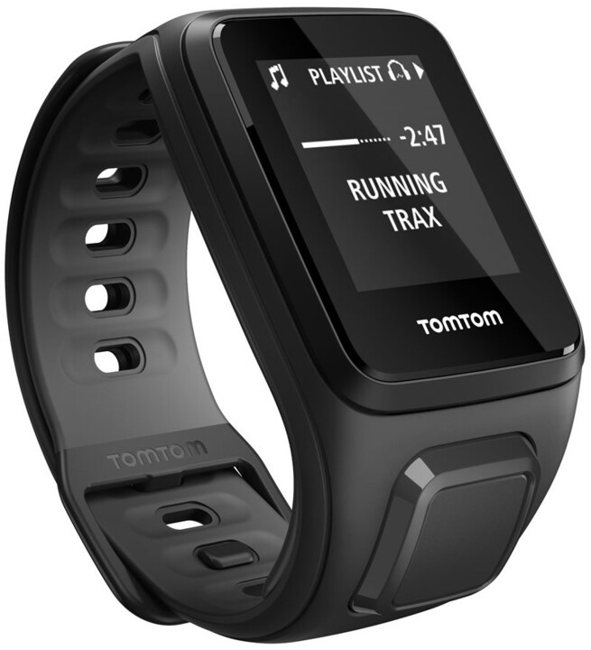 TOMTOM Runner 2 Cardio (velikost S), černá/antracit