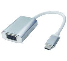 PremiumCord převodník USB3.1 na VGA, hliníkové pouzdro, rozlišení FULL HD 1080p - ku31vga03