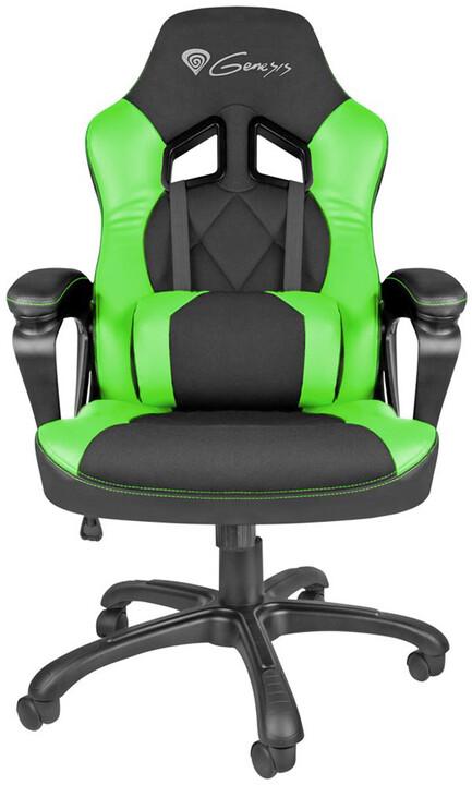 Genesis Nitro 330, černá/zelená