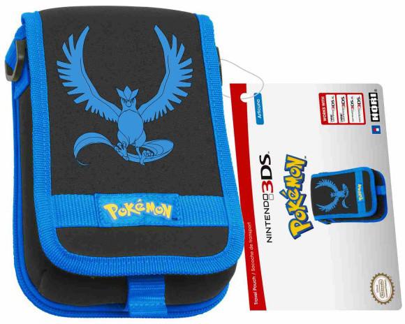 Hori New 3DS XL Pouch, Pokémon Go Blue