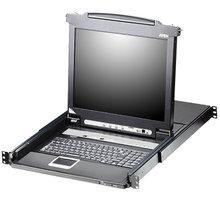 """ATEN CL5708 - 8-portový KVM switch (PS/2 i USB), 17"""" LCD, UK klávesnice - CL5708M-ATA-2XK06UG"""