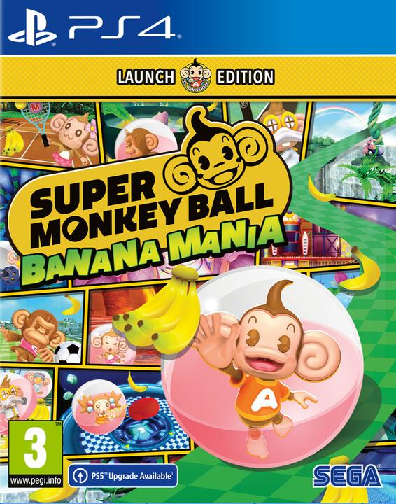 Super Monkey Ball Banana Mania - Launch Edition (PS4)