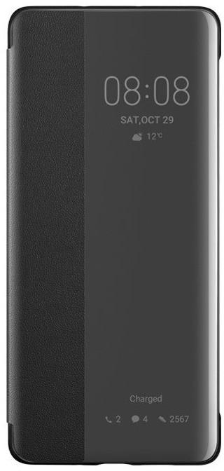 Huawei Original S-View pouzdro pro P30 Pro, černá