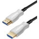 PremiumCord optický fiber High Speed with Ether. 4K@60Hz kabel 15m, M/M, zlacené konektory