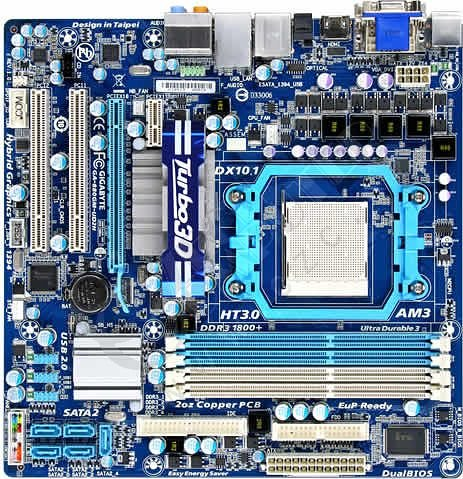 GIGABYTE GA-880GM-UD2H - AMD 880G