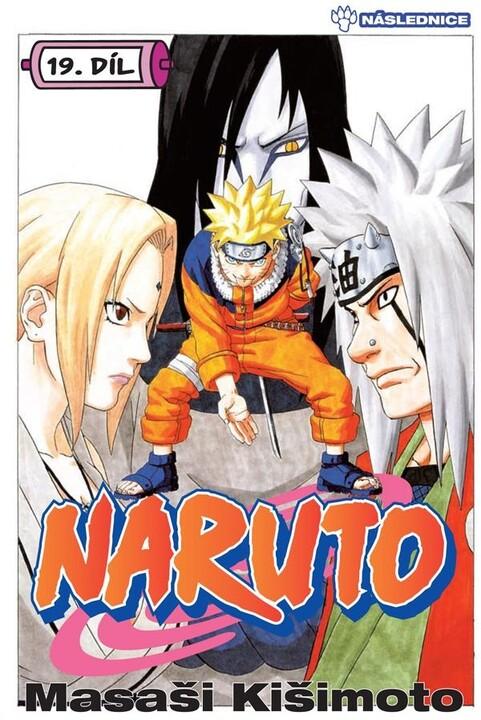 Komiks Naruto: Následnice, 19.díl, manga