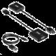 Club3D adaptér HDMI 1.4 - VGA, M/F, 4K@60Hz, aktivní, audio, 24cm, černá