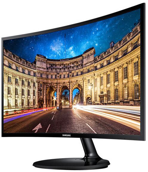 """Samsung C24F390F - LED monitor 24"""""""