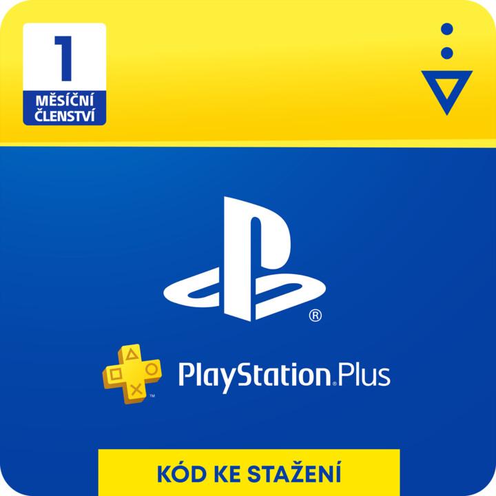 PlayStation Plus 1-měsíční členství - elektronicky
