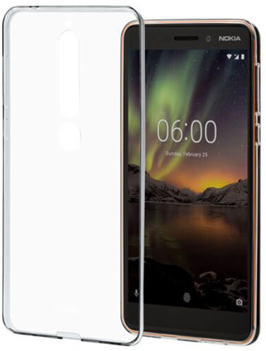 Nokia 6.1 pouzdro, clear