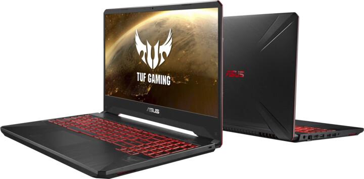ASUS TUF Gaming FX505DY, černá