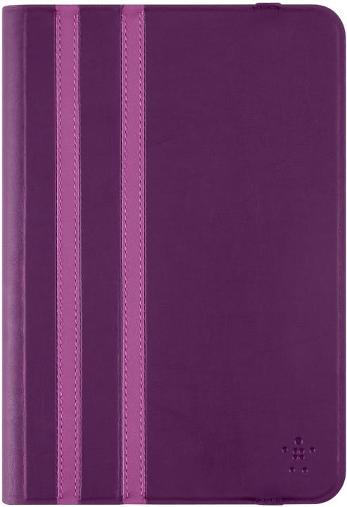 Belkin iPad mini 4/3/2 pouzdro Twin Stripe, fialová