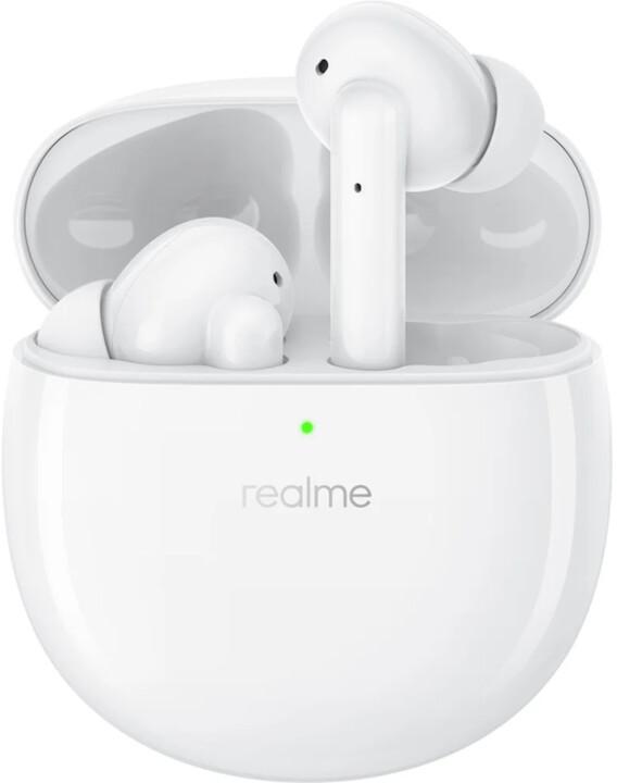Realme Buds Air Pro, bílá