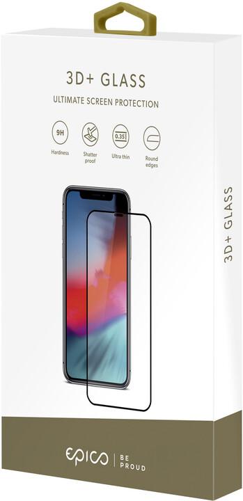 EPICO 3D+ GLASS pro iPhone 6/6S/7/8/SE (2020), černá