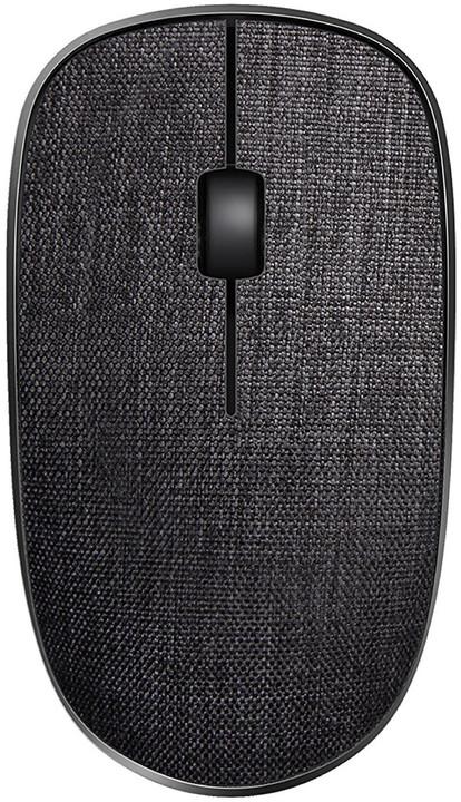 Rapoo 3510 Plus, černý textil