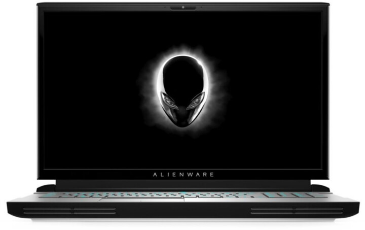 Dell Alienware 17 Area-51m R2, stříbrná