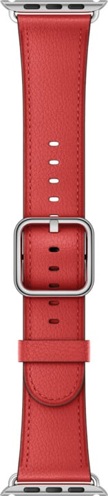 Apple watch náramek 38mm Red Classic Buckle