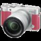 Fujifilm X-A3 + XC 16-50mm, stříbrná/růžová  + 300 Kč na Mall.cz
