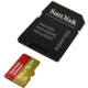 SanDisk Micro SDXC Extreme V30 64GB 90MB/s UHS-I U3, Rescue Pro Deluxe + SD adaptér