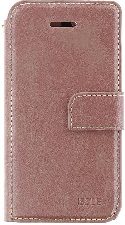 Molan Cano Issue Book pouzdro pro Huawei P Smart, růžově zlatá