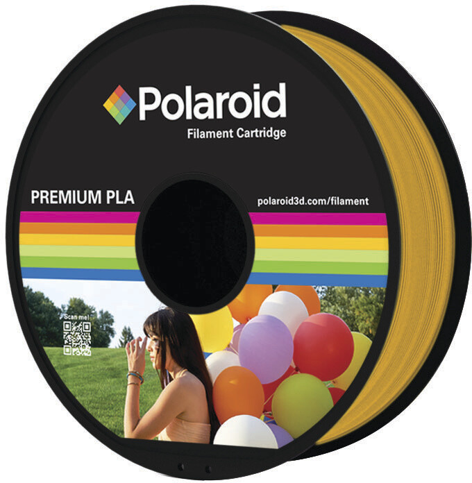 Polaroid 3D 1Kg Universal Premium PLA 1,75mm, zlatá