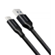 AXAGON BUCM3-AM20B, SUPERSPEED kabel USB-C - USB-A 3.2 Gen 1, 2m, 3A, oplet, černá