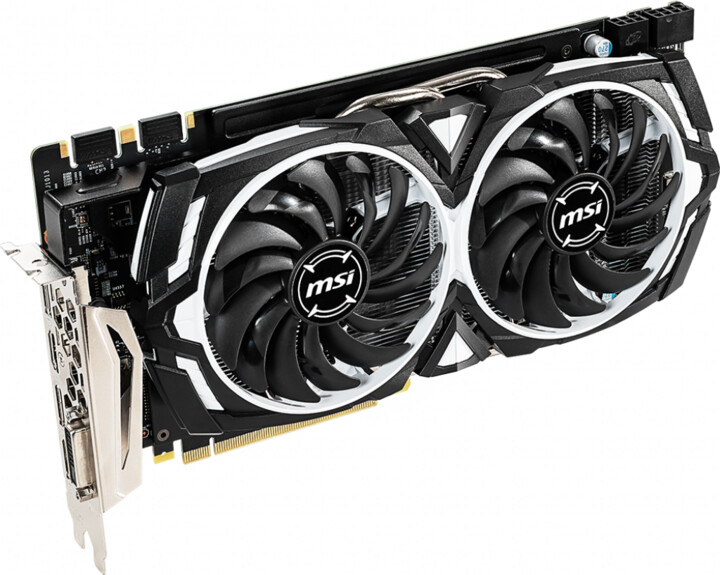 MSI GeForce GTX 1060 ARMOR 6GD5X OC, 6GB GDDR5X