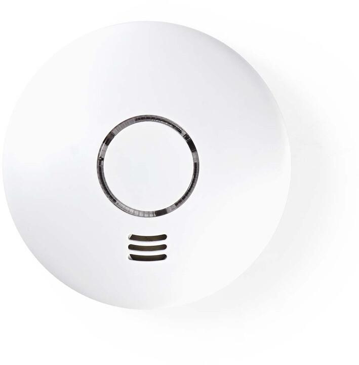Nedis chytrý detektor kouře, Wi-Fi