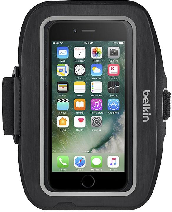 Belkin sportovní pouzdro SportFit plus pro iPhone 7plus, černé