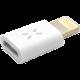 FIXED redukce pro nabíjení a datový přenos z microUSB na Lightning, iOS 9.x a nižší, bílá