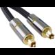PremiumCord optický audio kabel Toslink, 1m