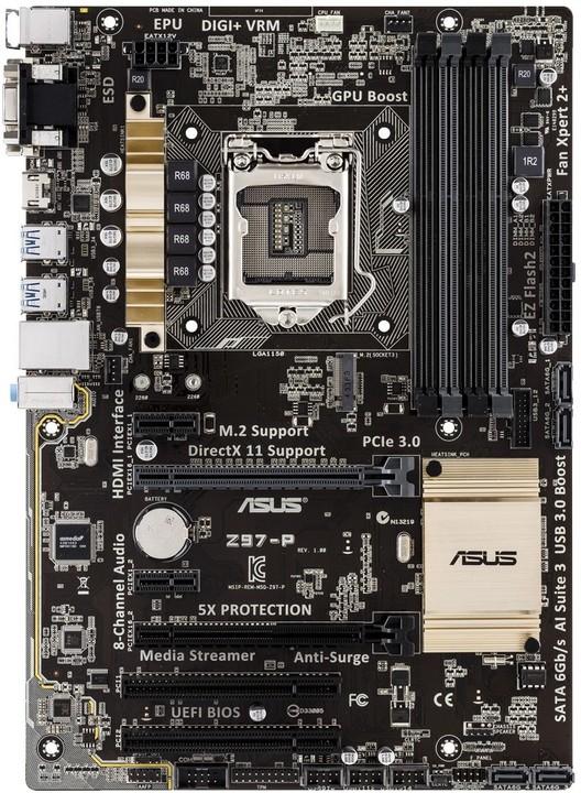 ASUS Z97-P - Intel Z97
