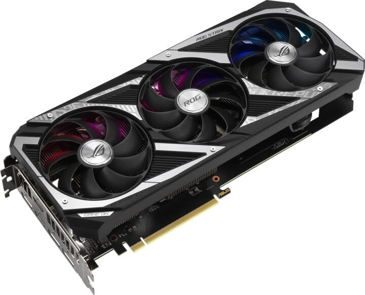 ASUS GeForce ROG-STRIX-RTX3060-O12G-GAMING, LHR, 12GB GDDR6