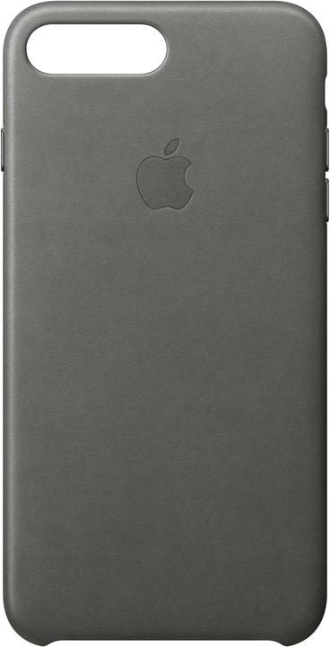 Apple Kožený kryt na iPhone 7 Plus/8 Plus – bouřkově šedý