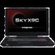 EUROCOM Sky X9C, černá