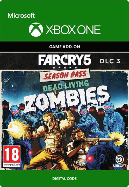 Far Cry 5: Dead Living Zombies (Xbox ONE) - elektronicky