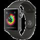 Apple Watch series 3 42mm pouzdro vesmírně šedá/šedý řemínek