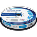 MediaRange BD-R 6x, 25GB, Printable, 10ks, spindle