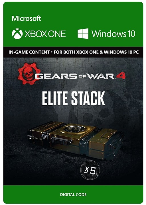 Gears of War 4 - Elite Stack (Xbox Play Anywhere) - elektronicky