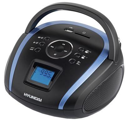 Hyundai TR 1088 BT3BBL, černá/modrá