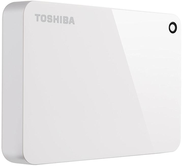 Toshiba Canvio Advance - 3TB, bílá