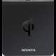 ADATA bezdrátová nabíjecí podložka s certifikací Qi, černá