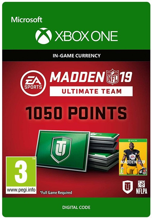 Madden NFL 19 - 1050 MUT Points (Xbox ONE) - elektronicky