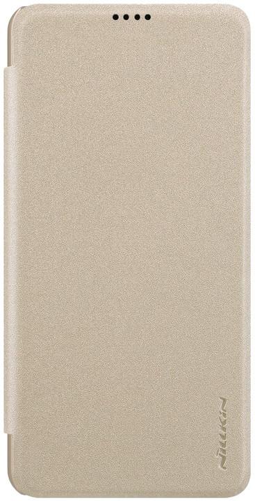 Nillkin Sparkle Folio pouzdro pro Xiaomi Mi8 Lite, zlatá