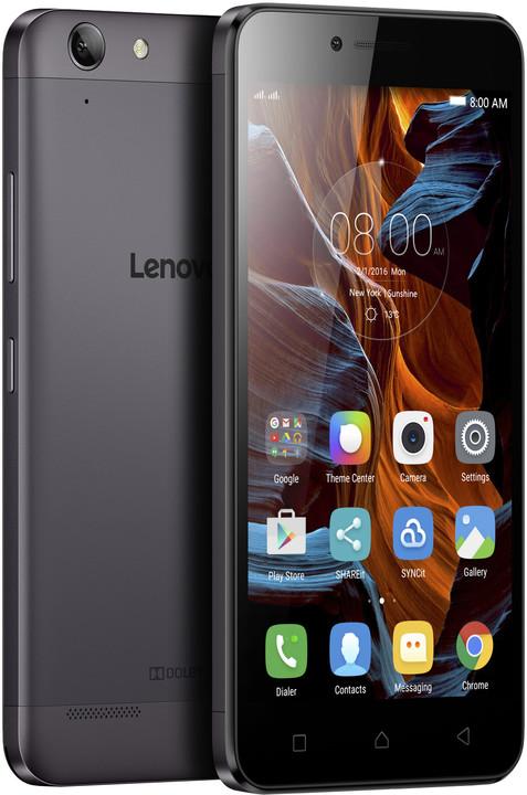 Lenovo K5 - 16GB, LTE, Dual SIM, šedá
