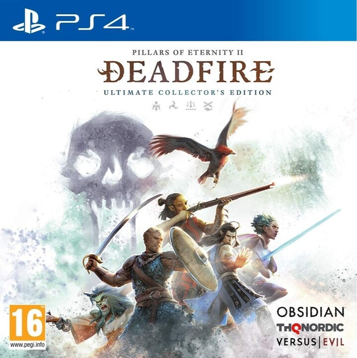 Pillars of Eternity 2: Deadfire - The Ultimate Collectors Edition (PS4)