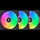 Fractal Design Aspect 14 RGB Black Frame 3-pack